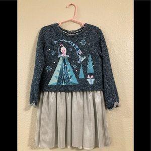 Disney Frozen Elsa & Olaf Long-Sleeve Dress 4T
